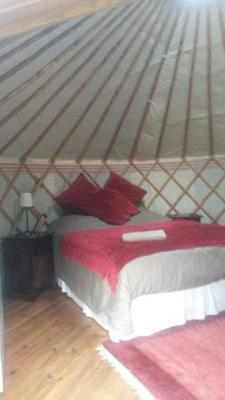 Yurt Inside:Secret Garden Retreat